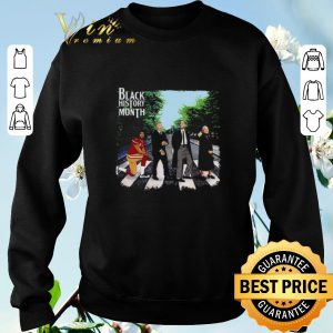 Official Black History Month Crosswalk Abbey Road shirt sweater 2