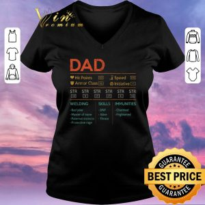 Official Dad hit points speed armor class initiative wielding vintage shirt sweater 1