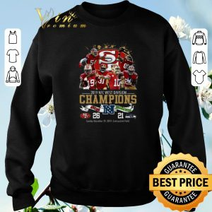 Official San Francisco 49ers 2019 NFC West Division Champions Seahawks shirt sweater 2