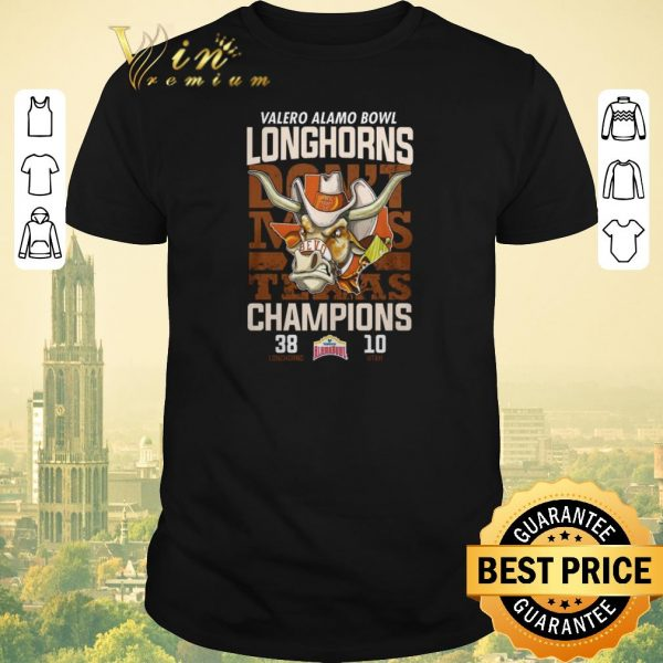 Official Valero Alamo Bowl don't makes Texas Champions Longhorns vs Utah shirt sweater