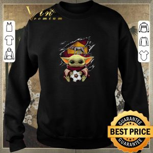 Original Baby Yoda Blood Inside As Roma shirt sweater 2