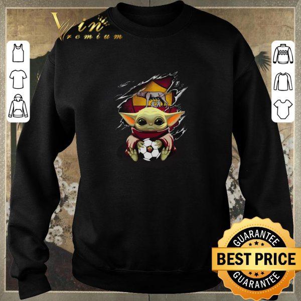 Original Baby Yoda Blood Inside As Roma shirt sweater