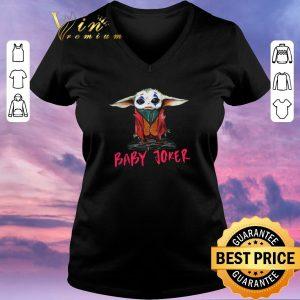Original Baby Yoda baby Joker shirt sweater 1