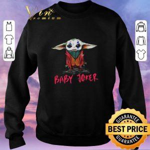 Original Baby Yoda baby Joker shirt sweater 2