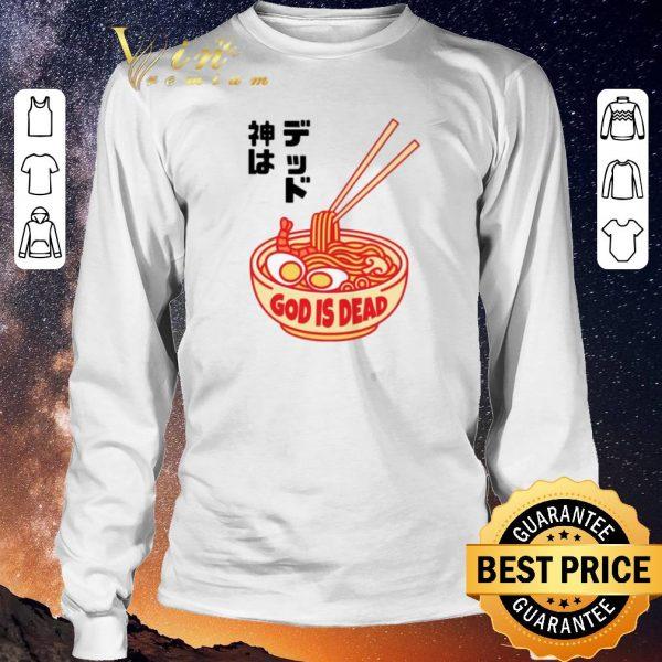 Original God is Dead Ramen shirt sweater