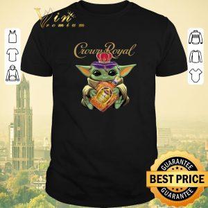 Premium Baby Yoda Crown Royal Star Wars Mandalorian shirt sweater