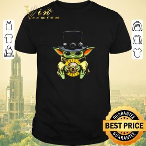 Premium Baby Yoda hug Guns N' Roses Logo Star Wars shirt sweater