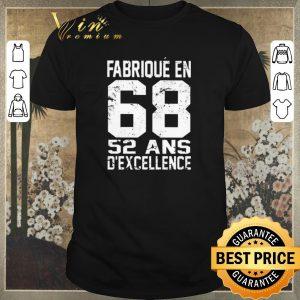 Premium Fabrique En 68 52 Ans D'excellence shirt sweater