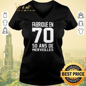 Premium Fabrique en 70 50 ans de merveilles shirt sweater 1