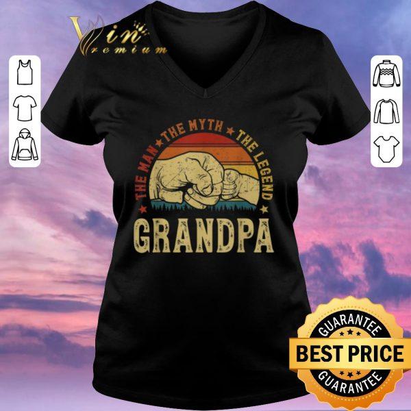 Premium Grandpa The Man The Myth The Legend Vintage shirt sweater