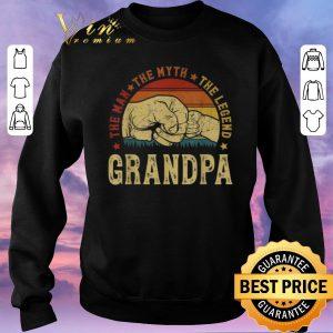 Premium Grandpa The Man The Myth The Legend Vintage shirt sweater 2
