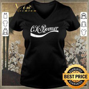 Premium Ok Boomer Coca Cola Style shirt sweater 1