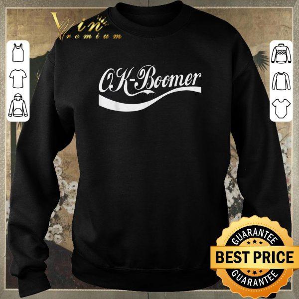 Premium Ok Boomer Coca Cola Style shirt sweater