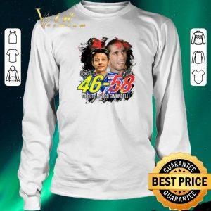 Premium Valentino Rossi 46 Tribute Marco Simoncelli 58 signatures shirt sweater 2
