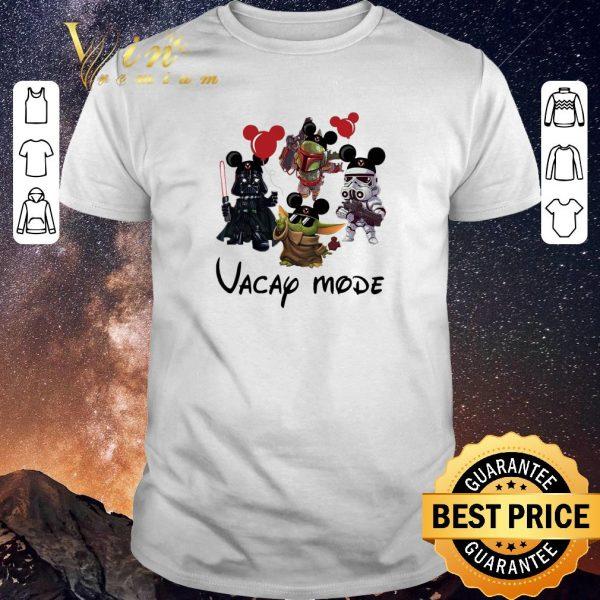 Pretty Baby Yoda Darth Vader Boba Fett Stormtrooper Vacay Mode shirt sweater