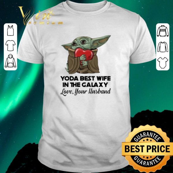 Pretty Baby Yoda best wife in the galaxy love your husband shirt sweater