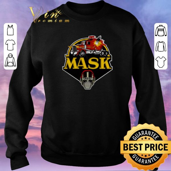 Pretty Logo M.A.S.K. Mobile Armored Strike Kommand Truck shirt sweater