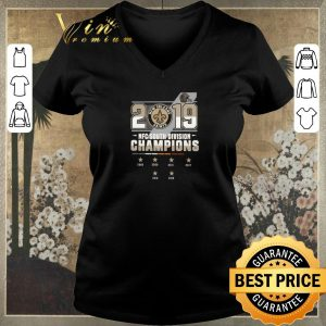 Pretty New Orleans Saints 2006-2019 NFC South Division Champions shirt sweater 1