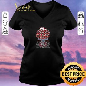Pretty San Francisco 49ers Champions Afc West 2019 Division Players Signatures shirt sweater 1