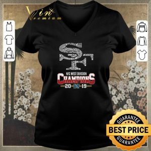 Pretty San Francisco 49ers List Name Nfc West Division Champions 2019 shirt sweater 1