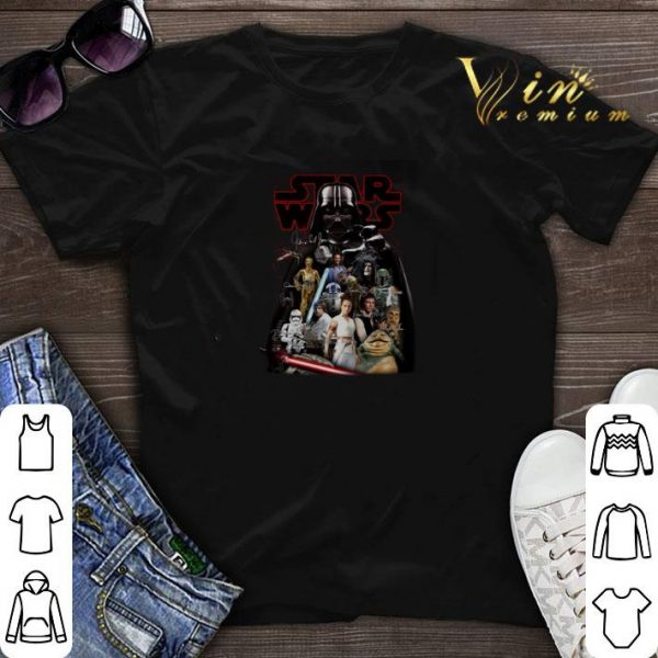 Star Wars characters Darth Vader autographed shirt sweater