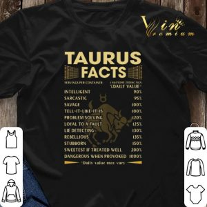 Taurus facts intelligent sarcastic savage tell it like it is shirt sweater 2