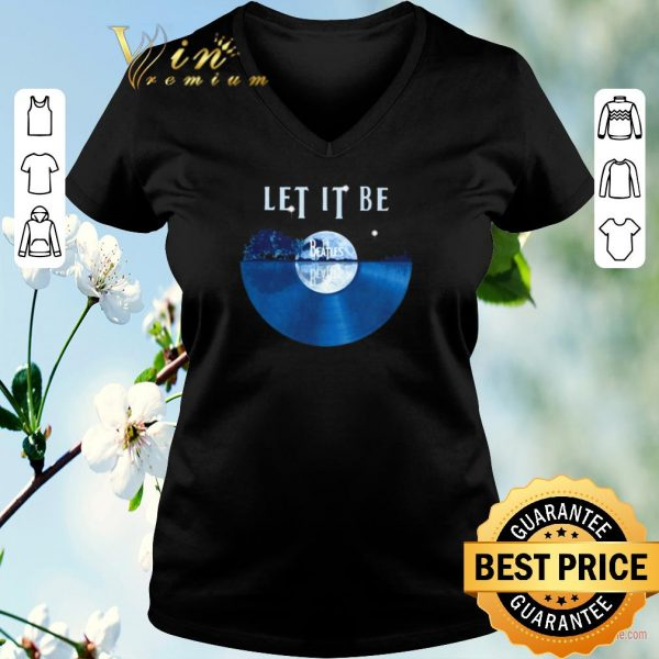 The Beatles Let It Be disc music guitar lake shirt sweater