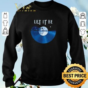 The Beatles Let It Be disc music guitar lake shirt sweater 2
