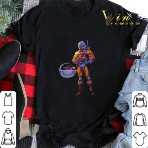 The Child Baby Yoda and He-Man The Mandalorian shirt sweater