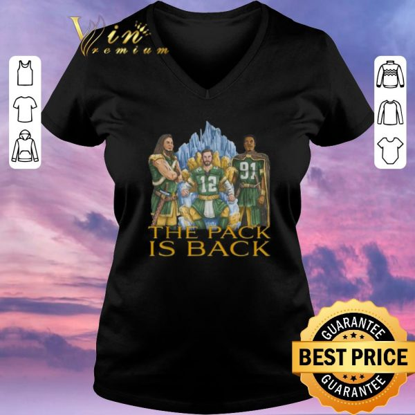 Top Green Bay Packers the pack is back shirt sweater