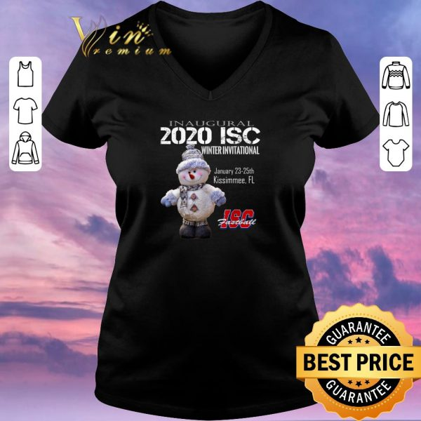 Top Inaugural 2020 ISC Winter Invitational ISC Fastball shirt sweater