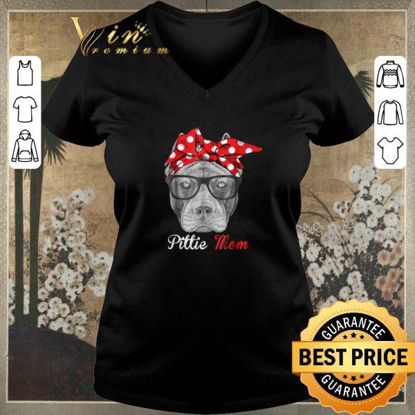 Top Pitbull dog Pittie Mom shirt sweater
