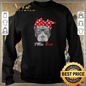 Top Pitbull dog Pittie Mom shirt sweater 2