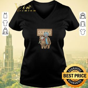 Top Rick and Morty Gucci Logo shirt sweater