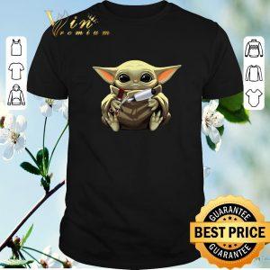 Top Star Wars Baby Yoda Hug Hair Stylist Mandalorian shirt sweater