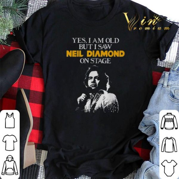 Yes i am old but i saw Neil Diamond on stage shirt sweater