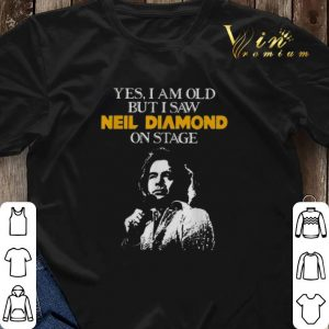 Yes i am old but i saw Neil Diamond on stage shirt sweater 2