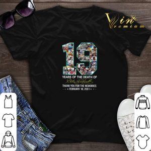 19 Years Of The Death Of Dale Earnhardt Thank You For The Memories shirt sweater