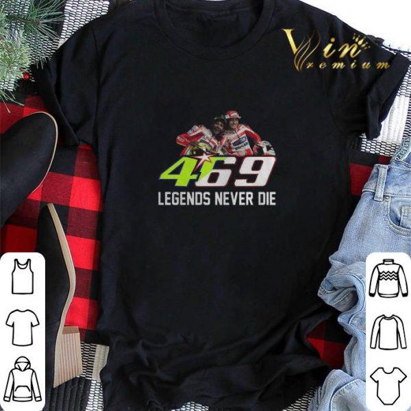 469 Legends Never Die Valentino Rossi And Nicky Hayden shirt sweater