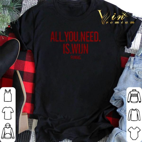 All you need is Wijn Rumag shirt sweater
