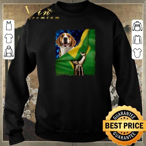 Awesome Bandeira do Brasil Beagle shirt sweater