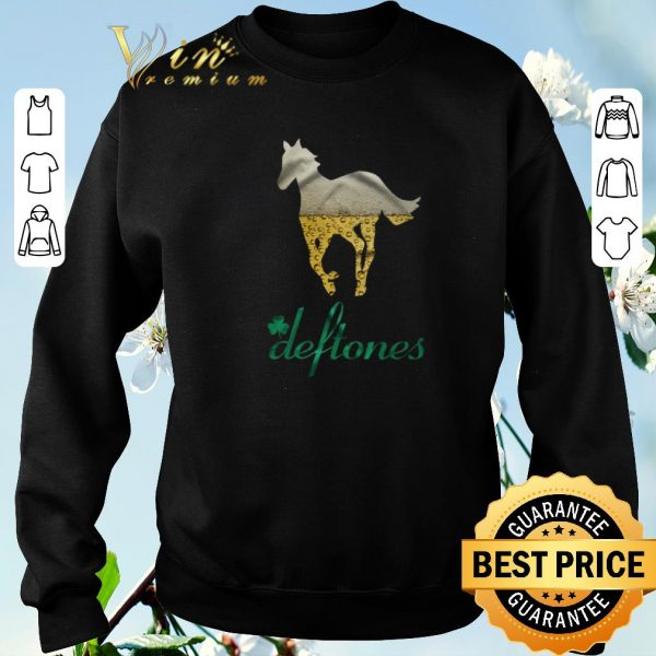 Awesome Beer Horse Mashup Deftones St. Patrick's day shirt sweater