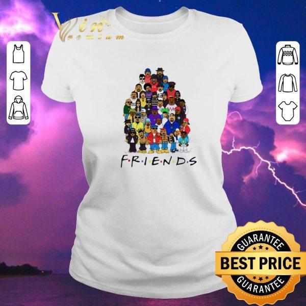 Awesome Black Legends Rapper's Last Supper Friends shirt sweater