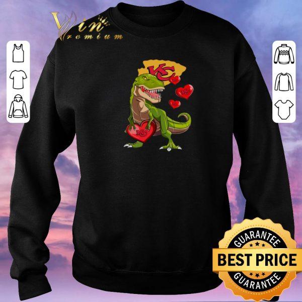 Awesome Dinosaur T-rex Mashup Kansas City Chiefs shirt sweater