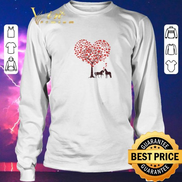 Awesome Horses Love Happy Valentine's Day shirt