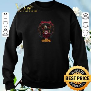 Awesome Metallica mashup Kansas City Chiefs champions shirt sweater 2