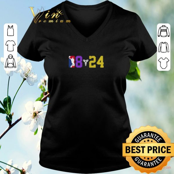 Awesome Nba 08 24 Kobe Bryant Logo Symbol shirt sweater