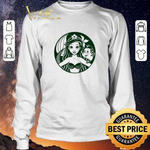 Awesome Starbucks Ariel Princess mermaid shirt sweater 2