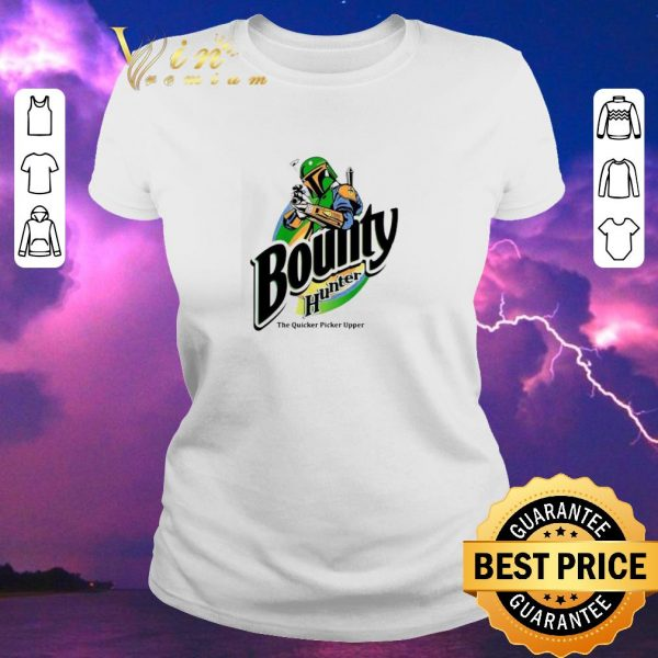 Awesome The Mandalorian Bounty Hunter The Quicker Picker Upper shirt sweater