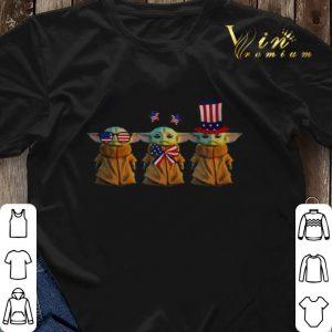 Baby Yoda Patriot American USA Star Wars shirt sweater 2